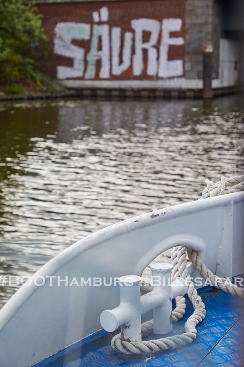 11.09.2020:  Billesafari in Kooperation mit BOOT Hamburg