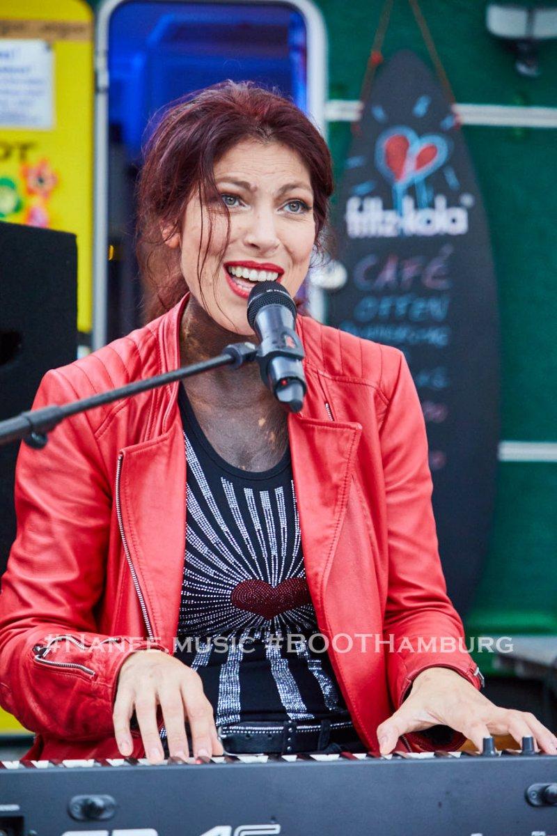 10.09.2020: Nanee,  Konzert am BOOTsWagen Kulturcafe