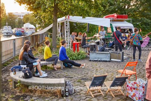 08.08.2019:  Nachbarschaftliches Kulturcafe BOOTsWagen feat. Punkrock-band Umabeya